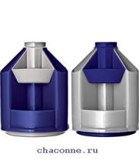 Подставка Mini Desk серая металлик/темно-синяя ОР90